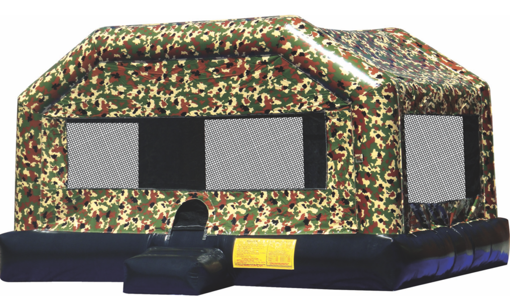 camo bounce house inflatable rental